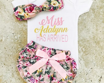 Newborn Girl Coming Home Outfit, Baby Girl Clothes, Infant Girl Clothes, Baby Clothes Girl, Newborn Baby Girl Clothes, Take Home Outfit Girl