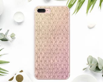 Pink Marble iPhone 8 Case Clear  iPhone 8 Plus Case iPhone 7 Case iPhone X Case TPU iPhone 5 Case iPhone 6 Phone Case iPhone 6S Plus AMM1046