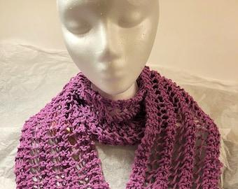Knit Lace Scarf