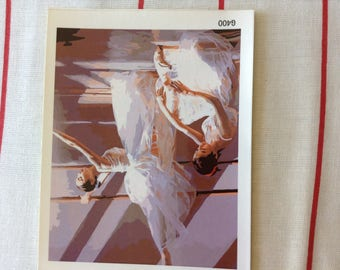 Dancer painting paint by number