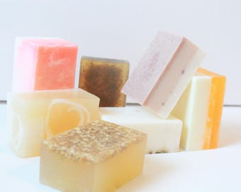 All Natural Soap Set: Select any 3 for 12
