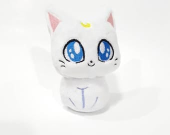 Sailor Moon -  Artemis - custom plush - ready to be shipped