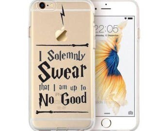 Clear TPU Harry Potter Phone Case for iPhone