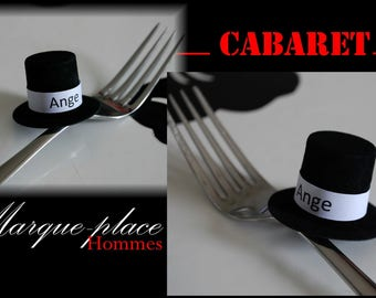 Top hat place card