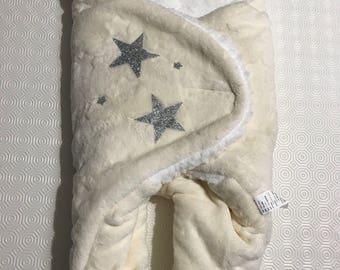 Grey star sleeping bag