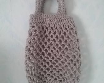 Crochet In the retro-style shopping bag / shopping bag
