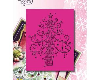 Nellie design 9x11cm_LD015 Christmas tree pattern
