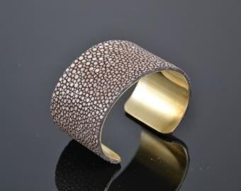 Genuine Stingray cufflinks