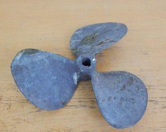 Equi-poise bronze 18L12 2796 Left ship propeller