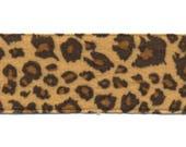 Fancy Brown Leopard skin clear 38 mm C004 meter Ribbon