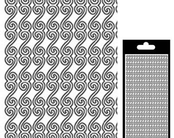 Arabesque - white Mat - STI193312 sticker