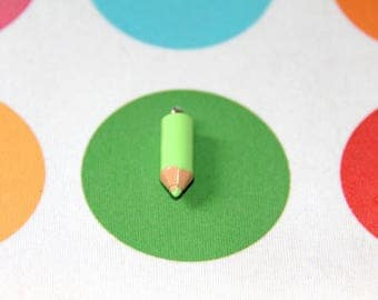 The charm small green colored pencil
