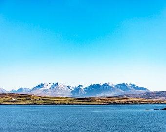 The Cuillins Isle of Skye Blank Greetings Card