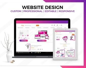 SALE Business Website Design, Wordpress Website Design, Custom Website, Website Design, Fully Functional Website, Professional Website