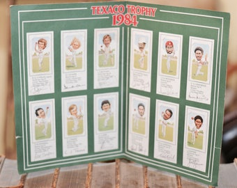 Full set of 1984 Texaco Trophy Cigarette Cards
