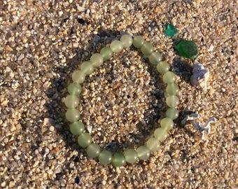 Bracelet aventurine beads 6 mm