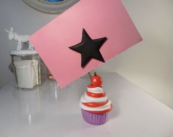 Cherry on top with star magnetic photo holder