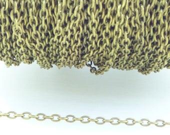 Chain bronze mesh 2.5 MM * 2 M