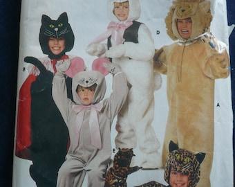 Halloween Costume Pattern for Children - Vintage Sewing Pattern Butterick 6815 - Children's sizes 8-10-12