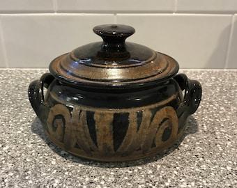 Small Pottery Casserole Dish