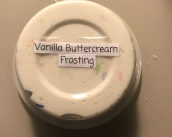Vanilla Buttercream Frosting Cream Cheese Slime