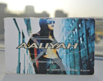 """Aaliyah """"If Your Girl Only Knew"""" Cassette"""