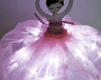 Ballerina lamp light shade