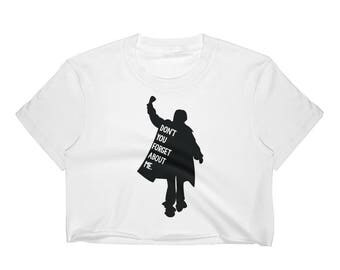 Breakfast Club - Don't You Forget About Me - Women's Crop Top