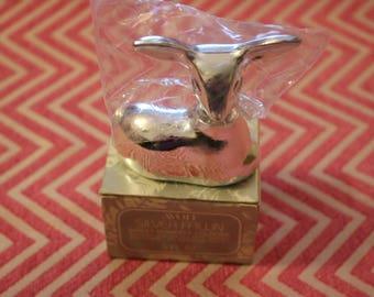 Silver Fawn Avon Decanter