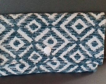 wallet, clutch, thick fabric case