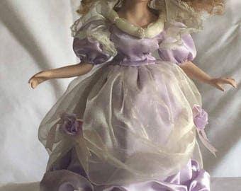 Little Girl Porcelain Doll