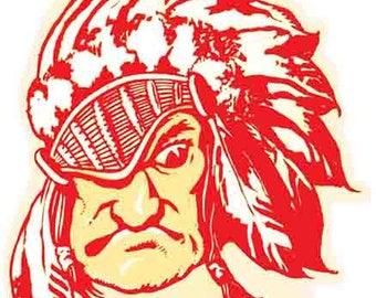 Vintage Style University of Oklahoma Sooners mascot Souvenir Travel Decal sticker college