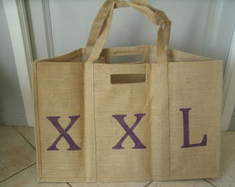 "large bag in Burlap ""XXL"""