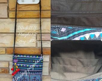 vintage hmong batik bag