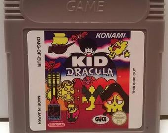 Kid Dracula Generic Nintendo Game Boy Color GBC Cartridge