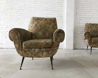 Couple of armchairs (to be restored)-Fifties