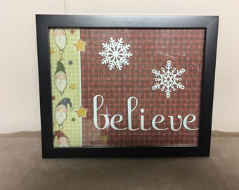 Customizable Holiday Frames