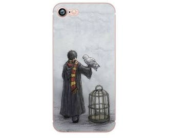 Harry Potter Case iPhone 8 7 Plus Case Clear Phone Case Harry Potter iPhone 6s 6 Plus Case Gift For Her Best Friend Clear Silicone Case