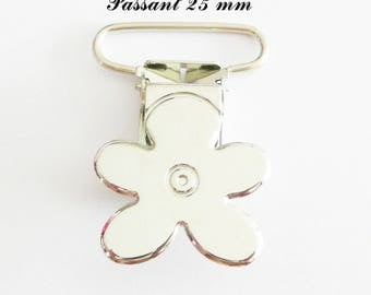 5 clips metal flower pacifier pacifier blanket from 25 mm