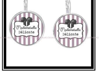"""Earrings """"Délicate Mademoiselle"""""""