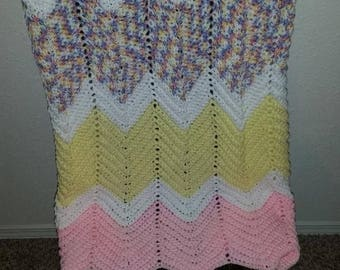 Multi Colored Baby Afghan