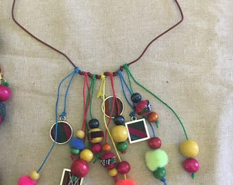 Argentine Aguayo Charm Necklace