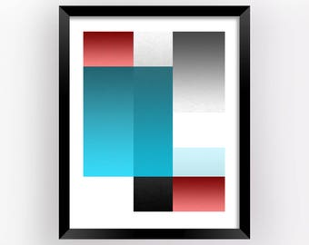 Large Wall Decor, Modern Art Poster, Modern Wall Art, Office Decor Wall Art, Home Decor Wall Art, Geometric Wall Art, Art Print | M0019