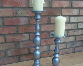 Two Candle Stick Holders