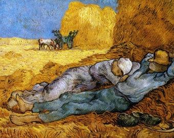 PLACEMAT ORIGINAL SEMI-RIGID AESTHETIC WASHABLE AND DURABLE. Van Gogh.La NAP bis.