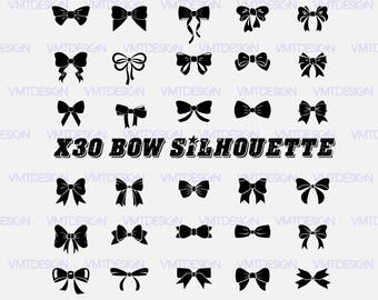 Bow svg - Bow vector - Bow Sinhouette vector - Bow Sinhouette svg - Bow Sinhouettel clipart digital file download svg, png, eps, jpg, dxf