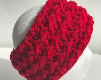 Handmade Knitted Headband 4018