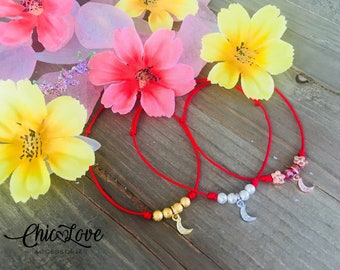 Red String Bracelet, Friendship Bracelet, Red String of Fate, Kabbalah bracelet, Hilo Rojo Protector.