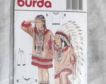 New Burda 5812 kids pattern