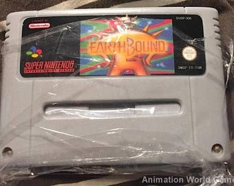 Earthbound SNES game Super Nintendo PAL new repro game